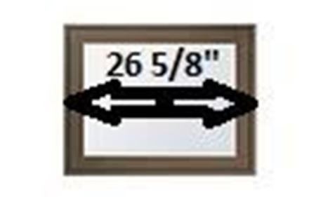 """Picture for category 26 5/8"""" Sash Width"""