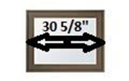 """Picture for category 30 5/8"""" Sash Width"""