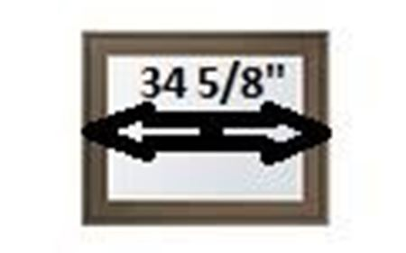 """Picture for category 34 5/8"""" Sash Width"""