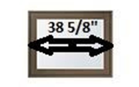 """Picture for category 38 5/8"""" Sash Width"""