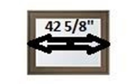 """Picture for category 42 5/8"""" Sash Width"""