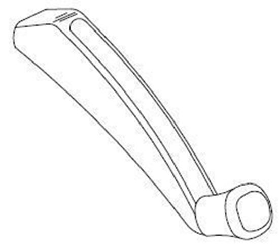 Picture of Pozzi Crank Handle PC103