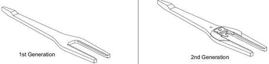 Picture of Pozzi Casement Lock Lever PC112