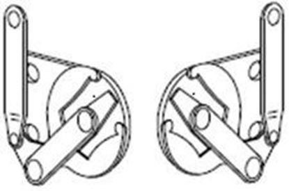 Picture of Pozzi Casement Lock Handle Drive PC113