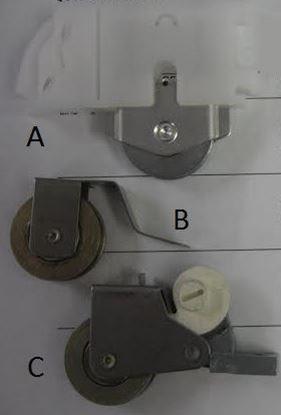 Picture of Norco Sliding Door Screen Roller Kit NP107
