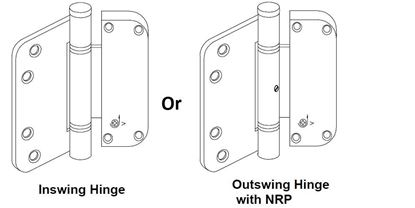 Picture of Pozzi Swing Door Adjustable (Vertical) Hinge PH108